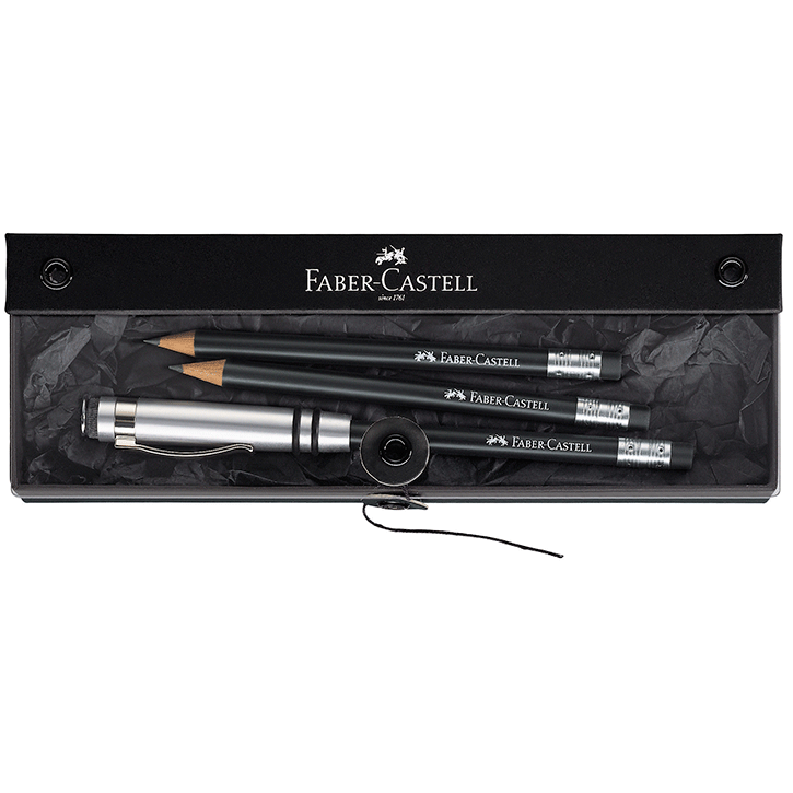 118351 Perfect pencil black gift set by Faber-Castell