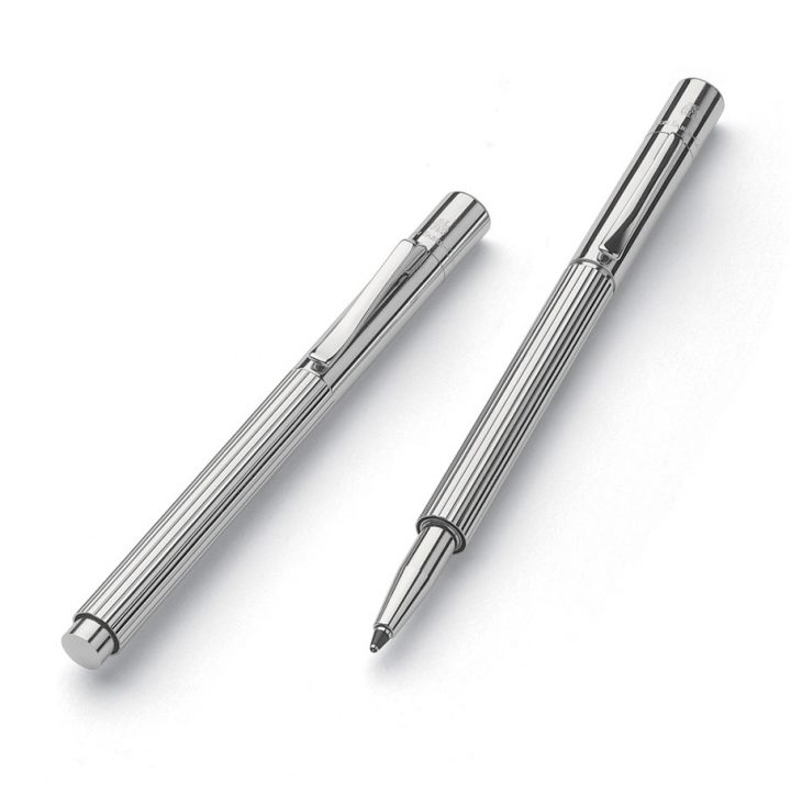 Pocket pen shown with lid closed and posted