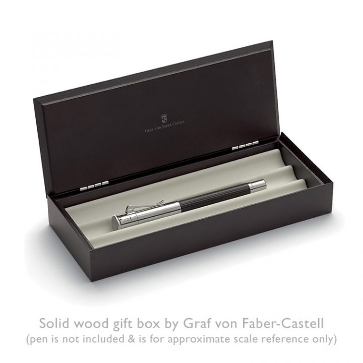 Classic, solid wood gift box by Graf von Faber-Castell