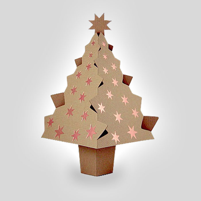 Pop-up \'Christmas tree\' Greetings Cards | PensFromHeaven.com
